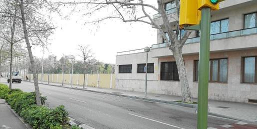 La imagen muestra el lugar en el que se habilitarán las nuevas plazas de estacionamiento.