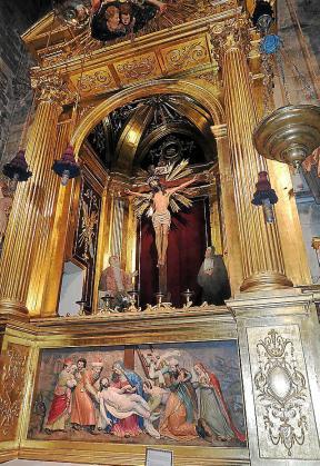 El retablo está compuesto por piezas de varios siglos y autores, según datos surgidos de la restauración.