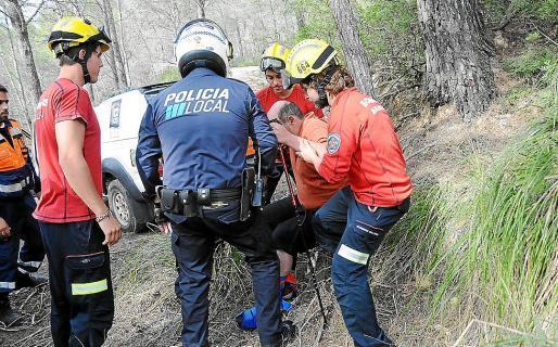 Imagen de archivo de un rescate de montaña en Andratx