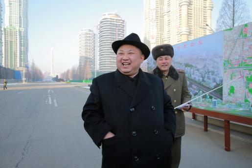 El máximo mandatario de Corea del Norte, Kim Jong-un, en una foto reciente.