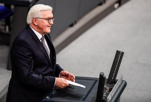 El nuevo presidente de alemania, Frank-Walter Steinmeier.