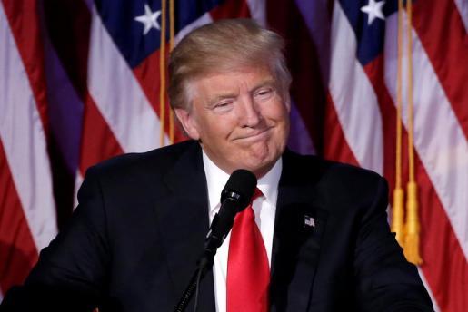 El presidente de Estados Unidos Donald Trump.