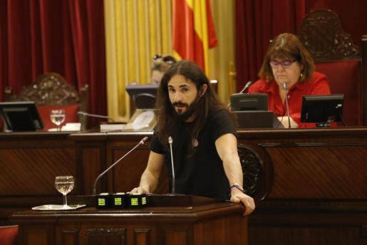 Imagen de archivo de Baltasar Picornell, durante un pleno.
