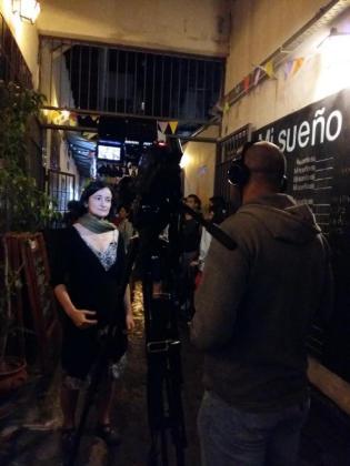 Marta Barceló ganadora del V Torneo de Dramaturgia Transatlántica.