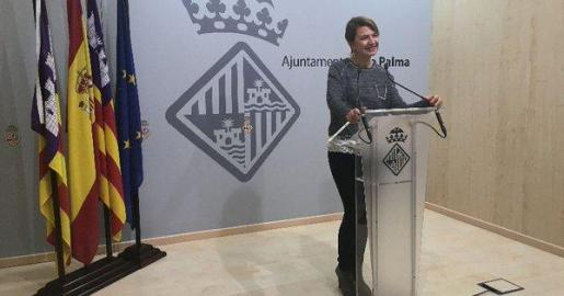 En la imagen, la portavoz del PP en el Ajuntament de Palma, Marga Durán.