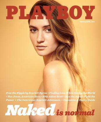 El número correspondiente a marzo y abril de Playboy contará con una portada protagonizada por la modelo Elizabeth Elam sin ropa.