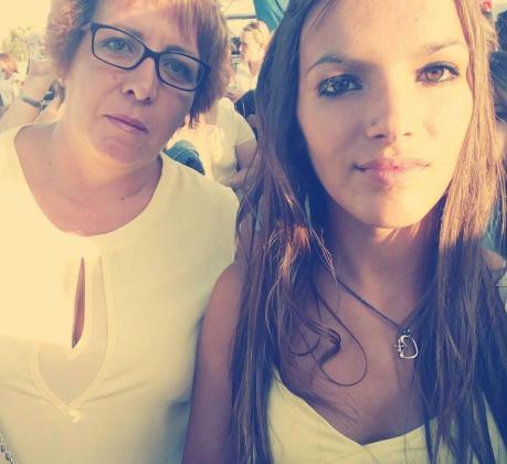 Ana Belén Ledesma, de 46 años, y su hija Ana, de 18.