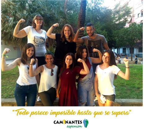 Mensaje de optimismo de un grupo de jóvenes valencianos que han superado un cáncer en la infancia o en la adolescencia, y forman parte de la Asociación de Padres de Niños con Cáncer (Aspanion).