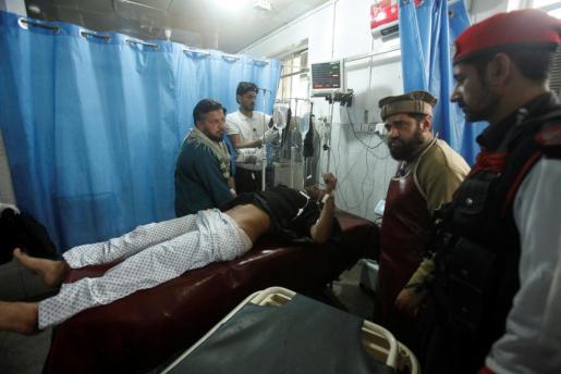Uno de los heridos por el último atentado en el país asiático.