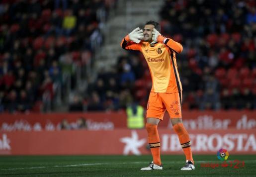 En la imagen, el meta del RCD Mallorca, Jesús Cabrero.