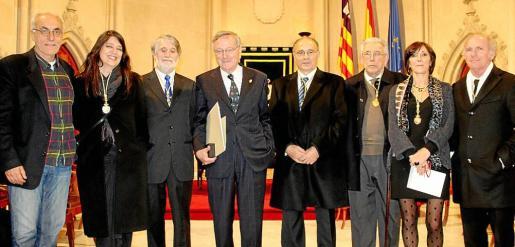 Cesc Mulet, Cristina Ros, Tono Vila, Rafael Moneo, Josep Prohens, Rafael Perelló-Paradelo, Francisca Lladó y Ñaco Fabré.