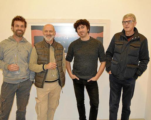 Dimas Poveda, Antoni Bauçà, Pol Font y Eduard Vich.