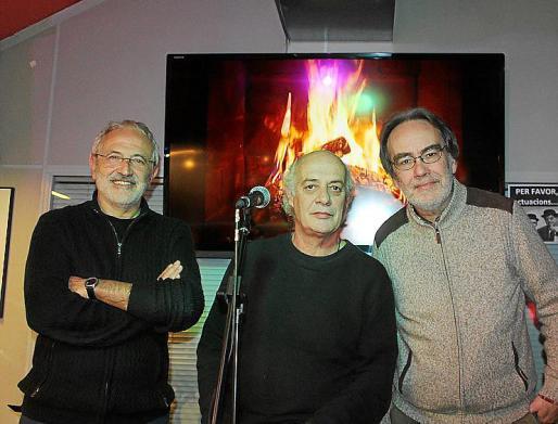 Miguel Ángel Sancho, Joan Isaac y Antoni- Olaf Sabater.