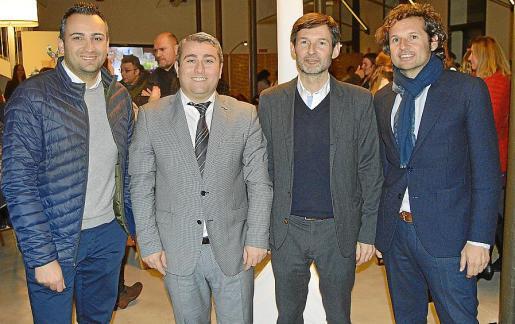 Jaume Tortella, Virgilio Moreno, Joan Ramis y Toni Ramis.