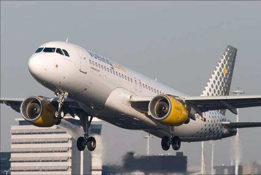 En la imagen, un avión de la compañía Vueling.