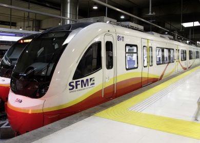 En la imagen, un tren de SFM.
