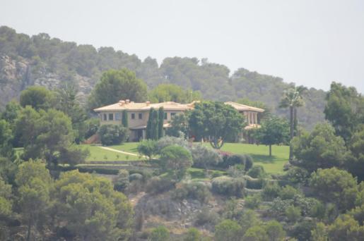 Imagen de la mansión de Florentino Pérez en Andraxt.