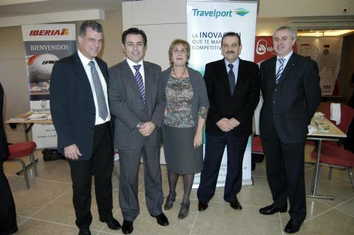 Ricardo Alemany, Antoni Abrines, Cati Pujadas, Daniel Guirola y Mateu Mairata.