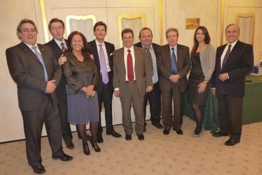 José Antonio Santos, José Francisco Ibañez, Grace García, Ignacio Esteban, Llorenç Huguet, Onofre Martorell, Jaume Gil Aluja, Nuria Oliver y Fernando Alzamora.