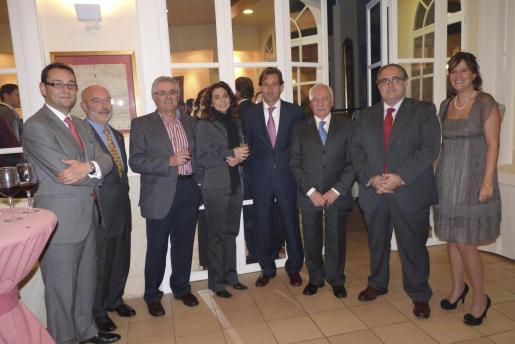 Eduardo García, Stefano Negre, Pedro Nadal, Margarita Bonet, Ramón Granadero, Gabriel Sampol, José Manuel de la Torre e Isabel Docavo.