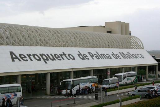 Imagen del aeropuerto de Palma.