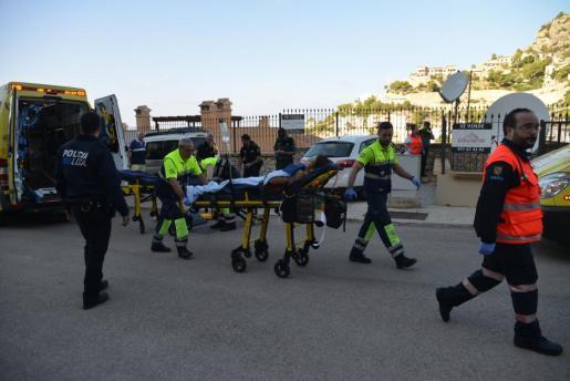 Imagen de archivo de un accidente laboral ocurrido en las Islas el pasado año.