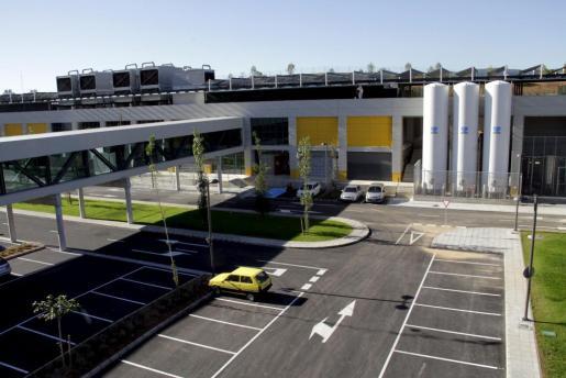 Imagen de una zona del actual parking de Son Espases.