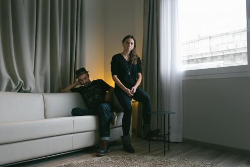 Imagen promocional del grupo Marlango.