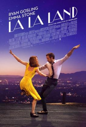 Cartel promocional de «La La Land»