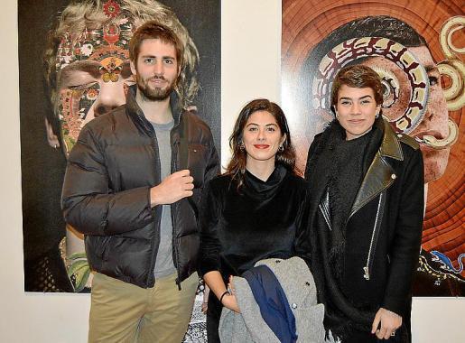 Guillem Auli, Julia Mayoral y Helena Pons.