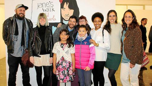 Xisco Fernández, Marina Planas, Emma e Idaira Romina, Alejandro Tamayo, Rosa García, Dayna Valdés, María Gómez y Aina Julián.
