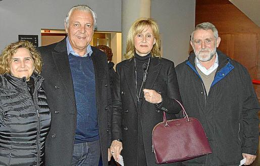 Magdalena Picornell, Sebastià Nadal, Ana Maria Parera y Bernat Sureda.