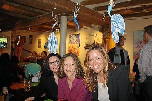 Silvia Pons, Esther Contioso y Ana Aranda.