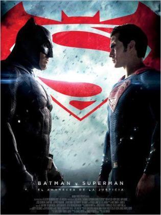 Cartel de la película 'Batman vs Superman'.