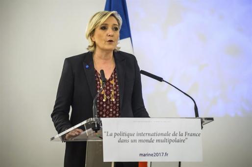 La francesa Marine Le Pen.