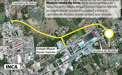 La institución insular propone unir la vía de Selva con la de Alcúdia.