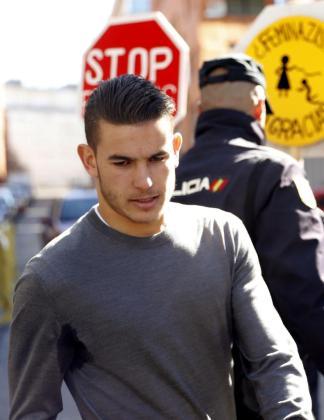 El futbolista rojiblanco, el día del juicio.
