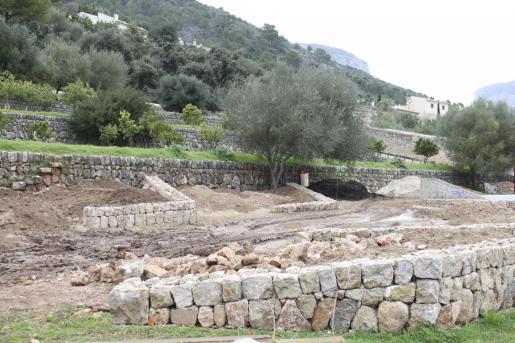 El Consistorio empezó en octubre la construcción de las primeras parcelas.