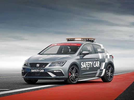 El debut como coche oficial de seguridad tuvo lugar el viernes en el circuito de Phillip Island (Australia).