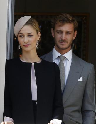 En la imagen, Pierre Casiraghi y su esposa Beatrice Borromeo.