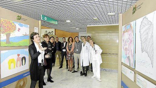La exposición dedicada a las enfermedades raras se podrá visitar hasta el 3 de marzo en Son Espases.