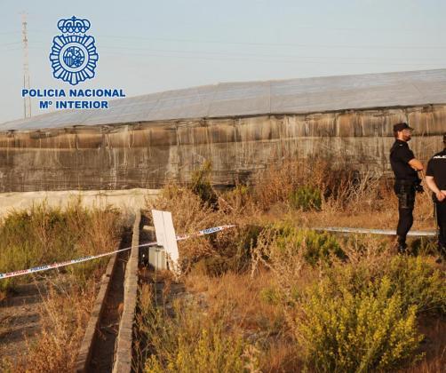 La Policía Nacional ha identificado los restos óseos que fueron hallados el pasado 5 de octubre de 2016 en unos invernaderos de El Ejido.
