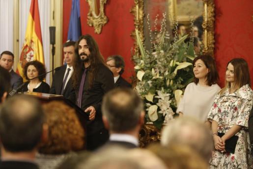 Baltasar Picornell, durante su intervención en el Parlament.