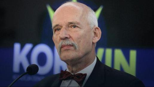 El ultraderechista Janusz Korwin-Mikke ya fue multado por el Europarlamento por hacer apología del nazismo.