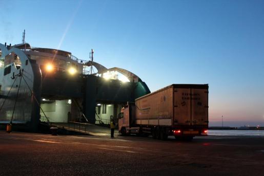 Imagen del puerto de Palma.