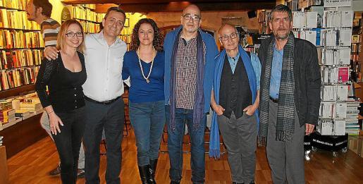 Sara Brustolon, Juan Molina, Francesca Gelabert, Luis Moreno, Federico Gallego y Francesc Rotger.