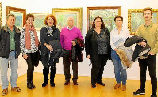 Gaspar Mas, Cati Calafat, Marina Alcover, Samuel Prieto, Marga Bordoy, Mercedes Oliver e Iván Roy.