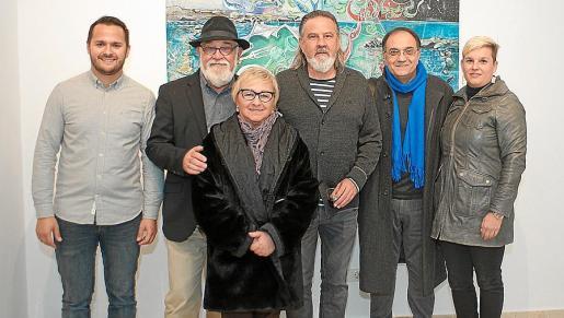 Xisco Duarte, Biel Mestre, Maria Antònia Porcel, Pere Bennàssar, Miquel Segura y Marta Murgades.