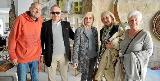Rufus Katzer, Dieter Eberle, Christina Stoldor, Brigitte Mohrle y Brigitte Vollmer.