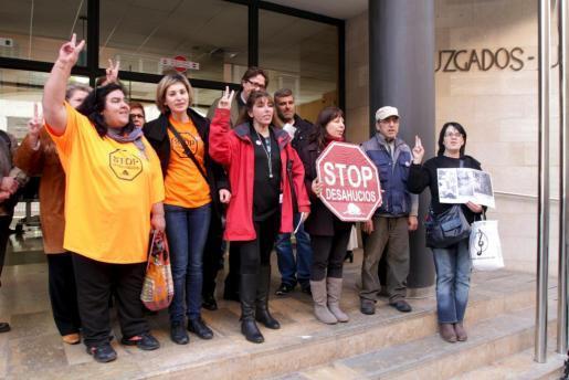 Imagen de archivo de la plataforma 'Stop deshaucios'